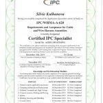 Certifikát IPC 620